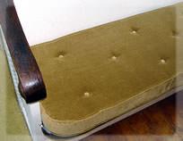 Rounded edge cushions